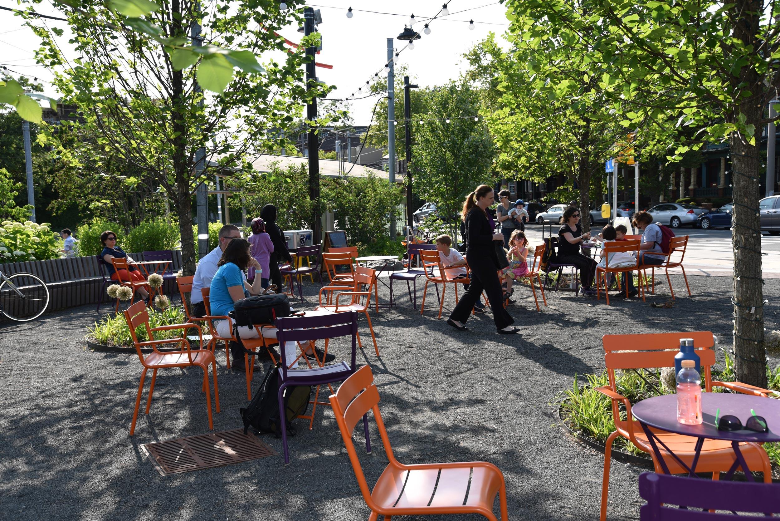 GCW designed and built Trolley Portal Gardens.