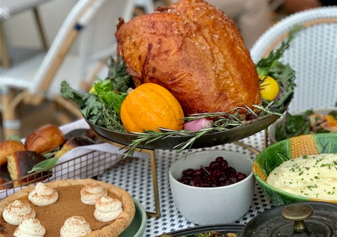 Thanksgiving offerings from Walnut Street Cafe