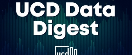 A graphic for the UCD Data Digest
