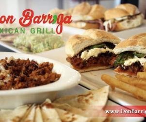 Don Barriga food.