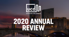 Cover image for the 2020 UCD annual review