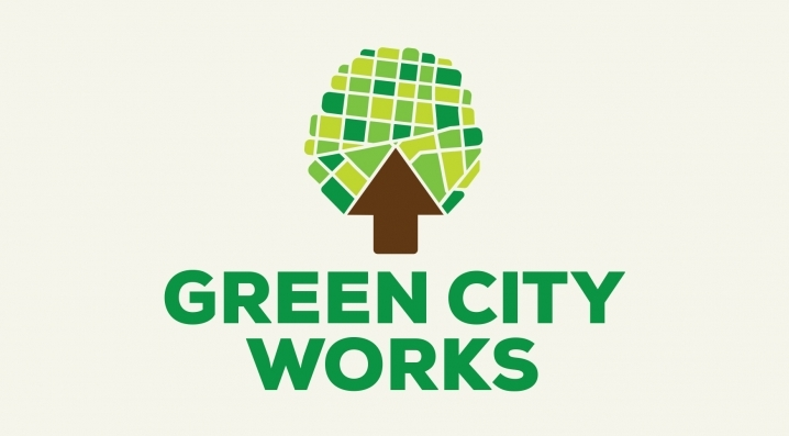 Green City Works' logo