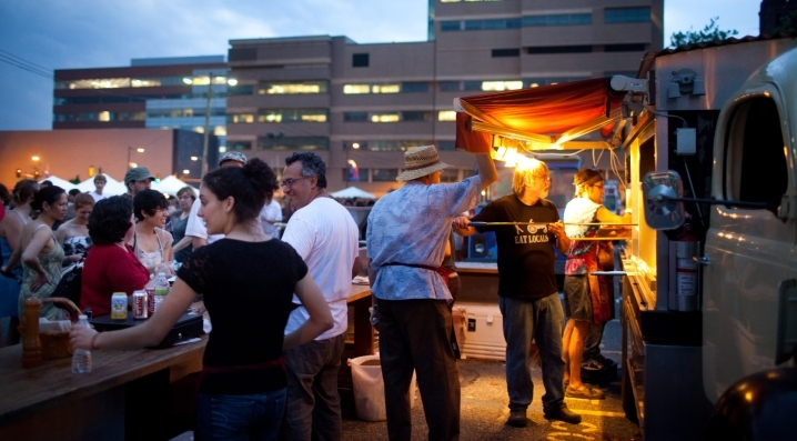Night Market in University City