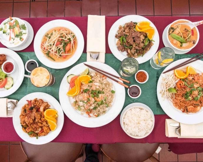 Pattaya's food.