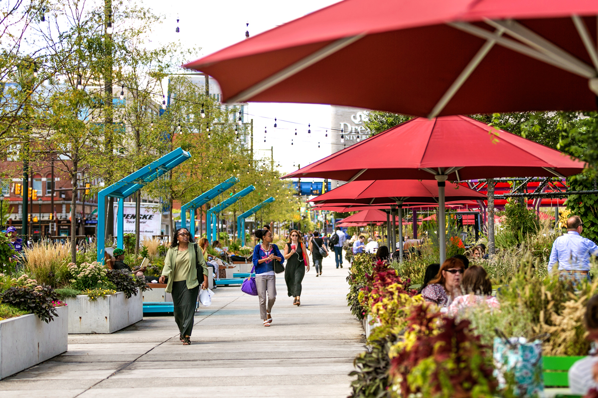 Green City Works is responsible for keeping UCD's flagship public space green and lush.